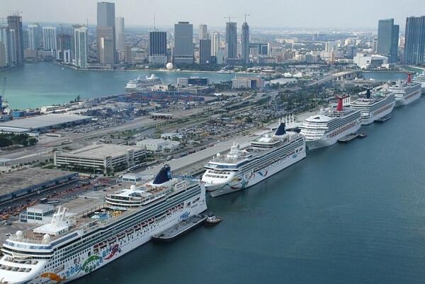 Miami Port Cruise Ships