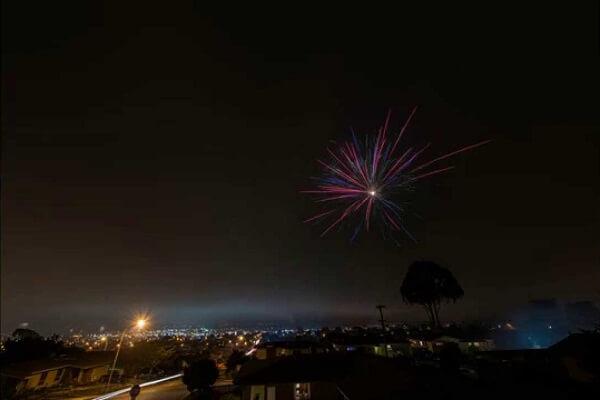 Monterey New Year Fireworks