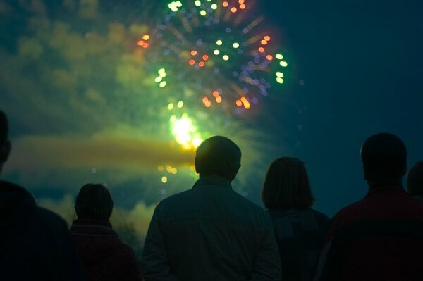 Old Orchard Beach New Years Eve Fireworks