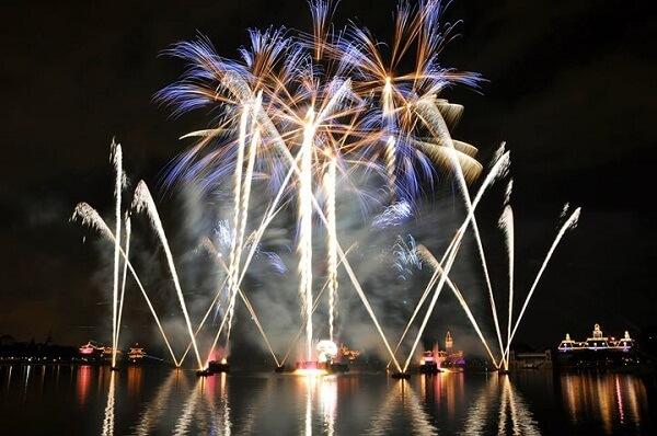 Pensacola Beach FL New Years Eve Fireworks