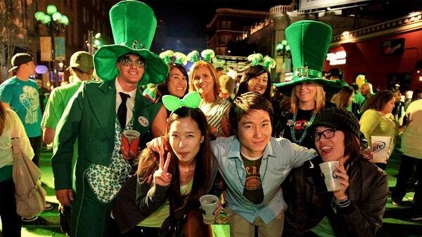 San Diego St. Patricks Day Celebrations