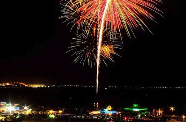 South Padre Island New Years Eve Fireworks