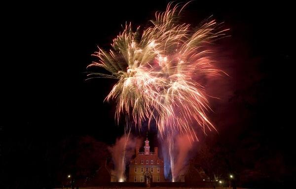 Williamsburg New Years Eve Fireworks