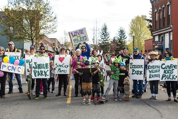 Easter Parade in Snohomish