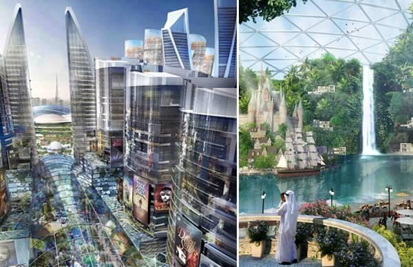 Dubai Climate Controlled City