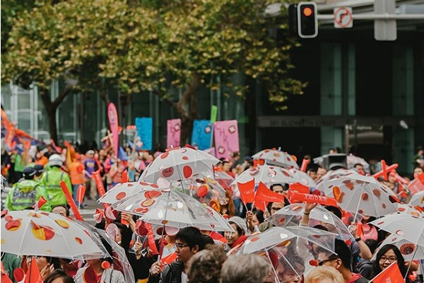 Easter Parade in Sydney