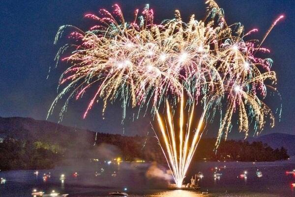 Lake George New Years Eve Fireworks