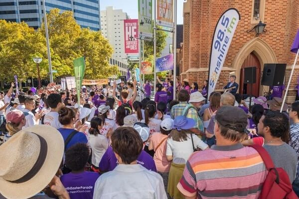 Easter Parade in Perth