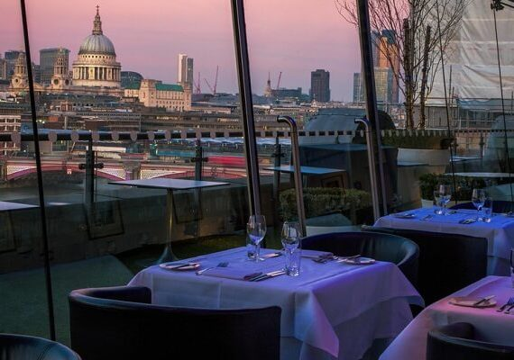 Best Rooftop Restaurants in London to Watch New Years Eve Fireworks 2020