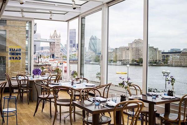 The Blueprint Café London