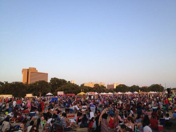 4th of July Concert in Austin TX