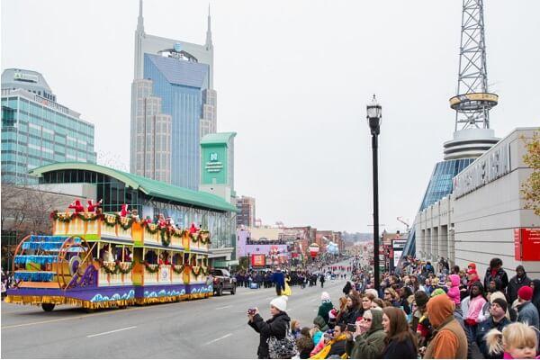 Christmas Parade in Nashville