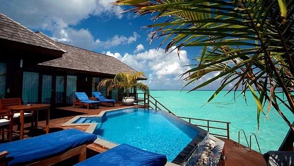 Presidential Suite @ Olhuveli Beach and Spa Resort Maldives