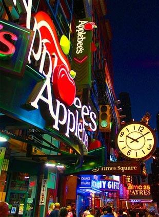 Applebee's Times Square NYE 42 NYC