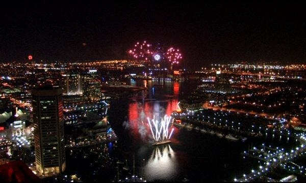 4th of July Baltimore Fireworks