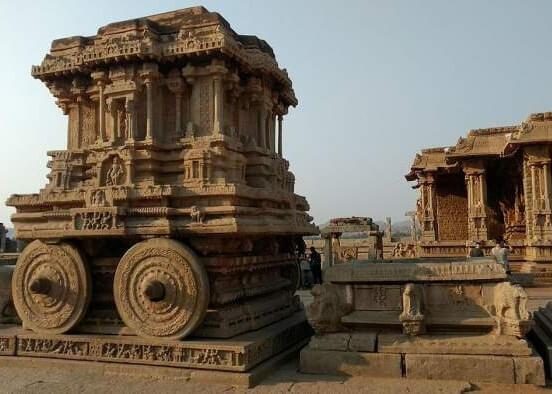 Hampi Monuments, Bellary (Karnataka)