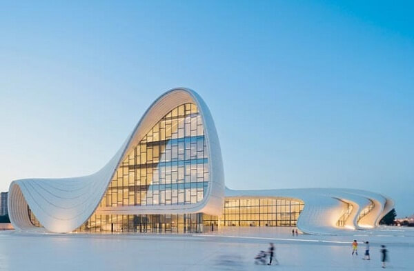Heydar Aliyev Cultural Center - Baku, Azerbaijan