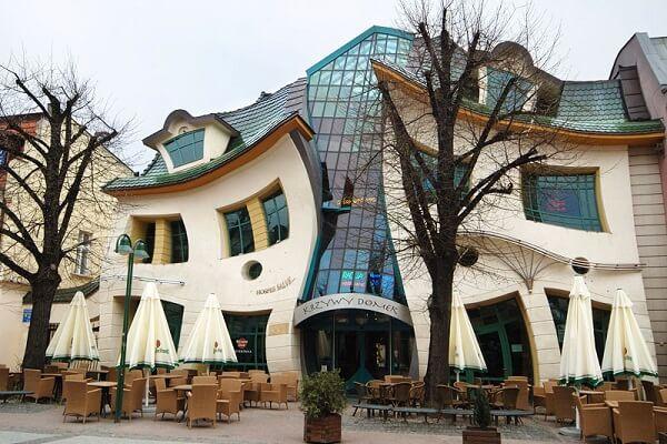 Krzywy Domek - Sopot, Poland