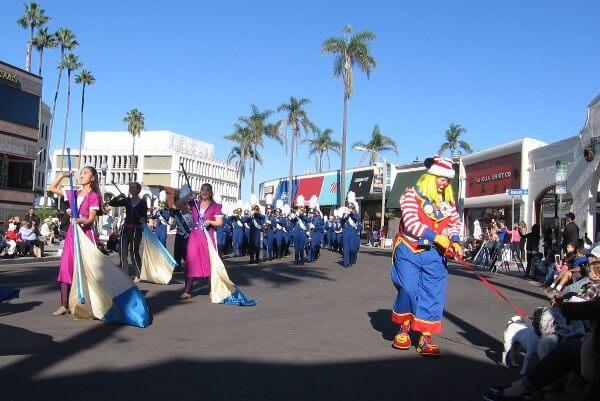 Christmas Parade in La Jolla