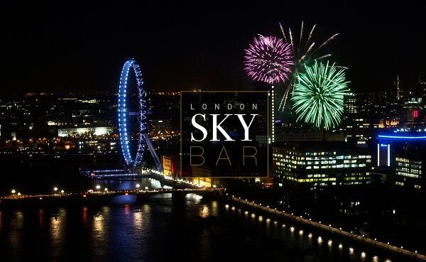 London Sky Bar NYE