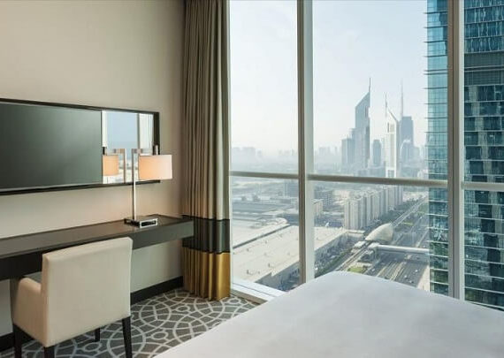 Sheraton Grand Hotel Dubai New Years Eve 2020: Gala Dinner, NYE Party and Celebrations