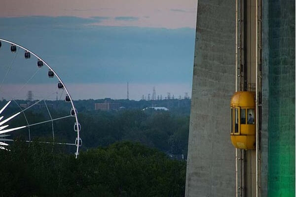 Skylon Tower Ride to The Top