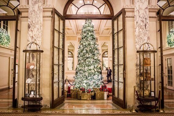 The Plaza Hotel NYC at Christmas