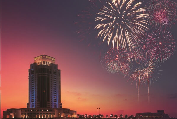 The Ritz-Carlton Doha New Year Fireworks