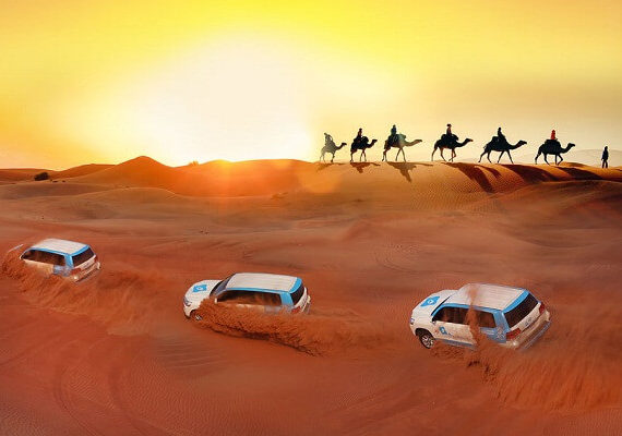 Dubai Desert Safari: Premium Red Dunes and Camel Safari with BBQ at Al Khayma Camp