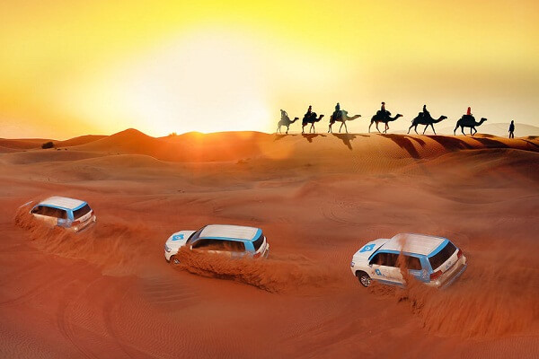 Dubai Desert Safari Premium Red Dunes