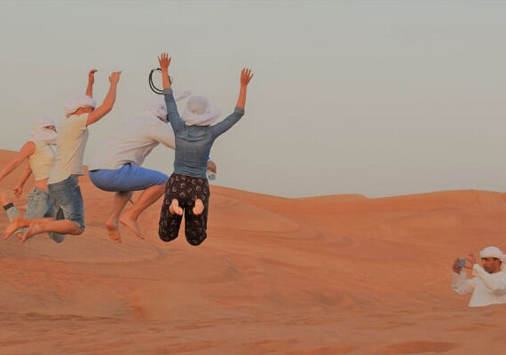 Dubai Desert Safari Red Dune: BBQ, Camel Ride and Sandboarding