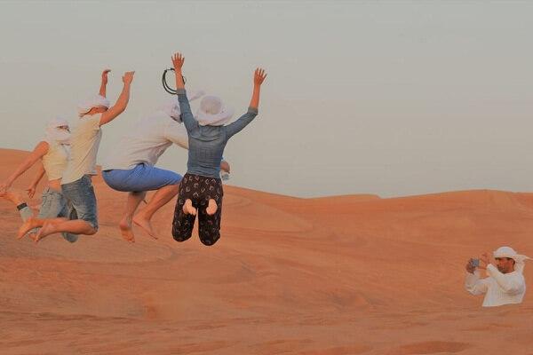 Group Photo @ Dubai Desert Safari