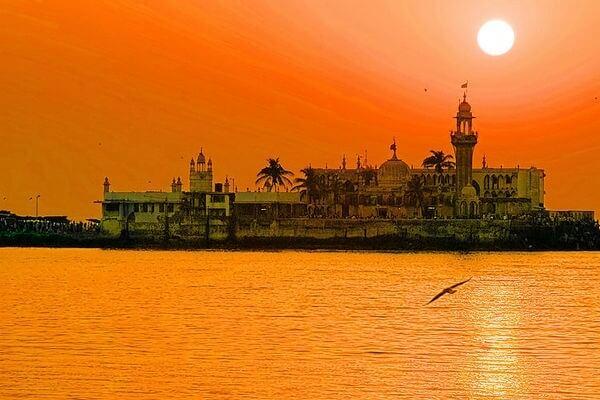 Sunset at Haji Ali Dargah Mumbai