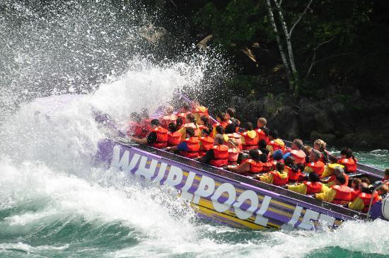 Niagara Falls CA Whirlpool Jet Boat Tours