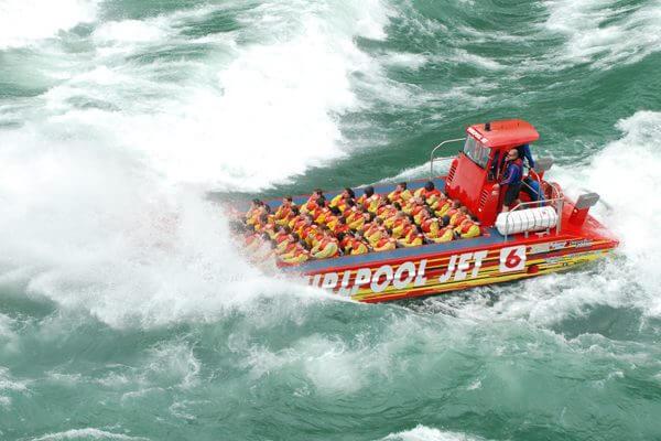 Whirlpool Jet Boat Tours Niagara Falls