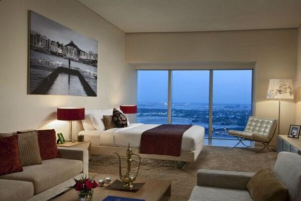 Best View from Ascott Park Place Dubai
