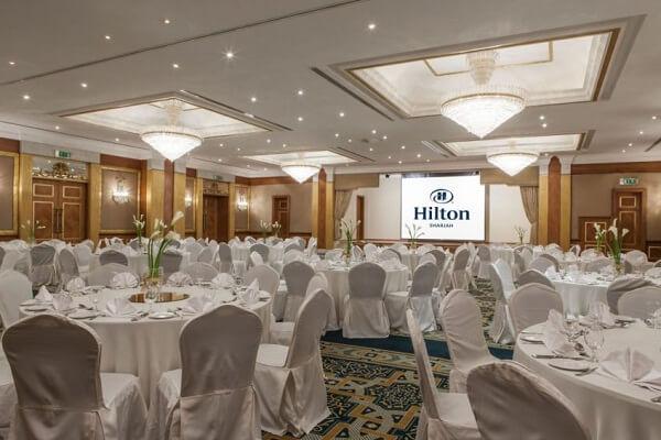 Dinner at Hilton Sharjah