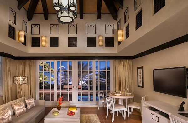 Beit Al Bahar One Bedroom Villa Living Room