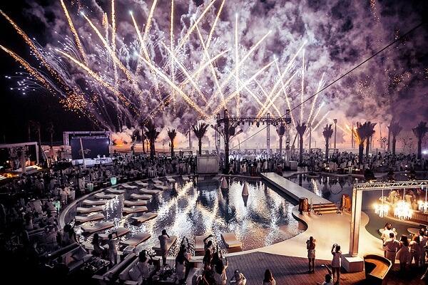Nikki Beach Resort Dubai New Years Eve Fireworks