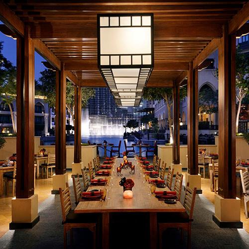 The Palace Downtown Dubai Asado Terrace