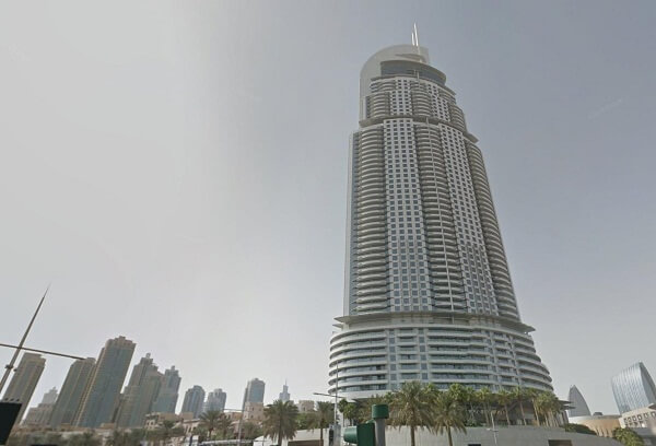 Address Downtown Hotel Dubai