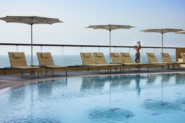 City View Pool at Amwaj Rotana Hotel Dubai