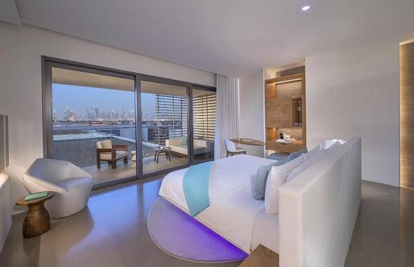 Best New Years Eve Fireworks View Room at Nikki Beach Resort Dubai