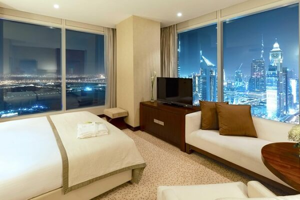 Best Burj Khalifa View from Voco Hotel Dubai