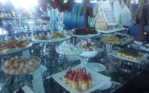 Christmas Brunch in Burj Al Arab Hotel, Dubai