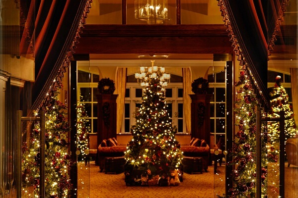 Christmas Decorations at Lough Erne Resort co. Fermanagh