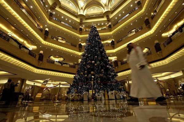 Christmas in Emirates Palace Abu Dhabi