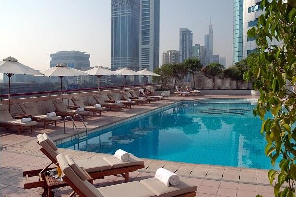Swimming Pool @ Crowne Plaza Dubai Sheikh Zayed Road