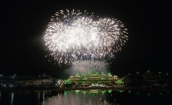 Emerald Palace Kempinski Dubai New Year's Eve
