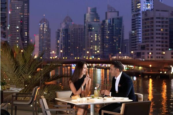 New Year's Eve Dinner @ InterContinental Dubai Marina